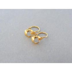 Zlaté detské náušnice žlté zlato gulička DA097Z