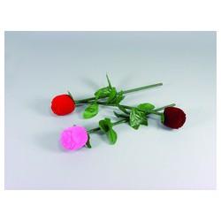 Krabička zamatová ružičky FU62A