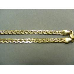 Zlatá retiazka pletený vzor DR42761