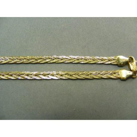 Zlatá Retiazka pletený vzor