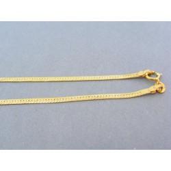 Zlatá retiazka žlté zlato pevná