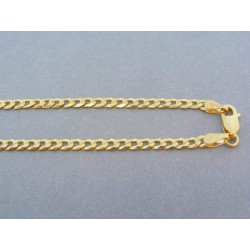 Zlatá retiazka vzor pancier žlté zlato
