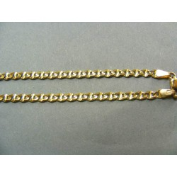 Zlatá retiazka žlté zlato jednoduchá DR60940