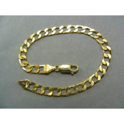 Zlatý náramok žlté zlato veľké kruhu hrubý VN20960Z
