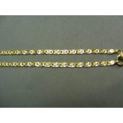 Zlatá retiazka žiletka zlato žlté DR50582