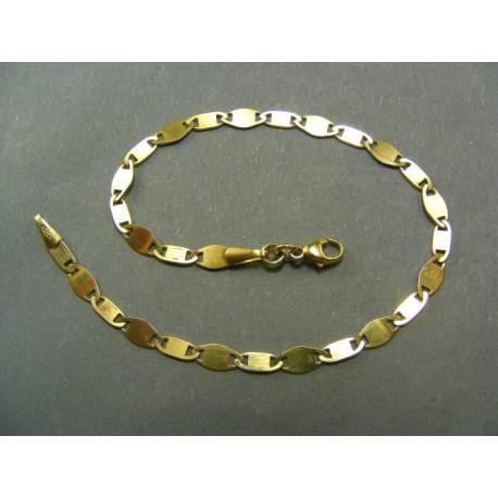Zlatý náramok vzor žiletka