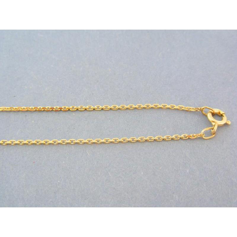 cee1f81b2 Zlatá retiazka žlté zlato vzor ručná pílka