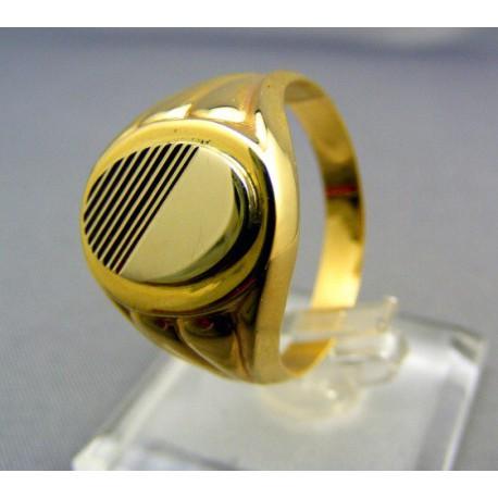 Pánsky prsteň zlatý