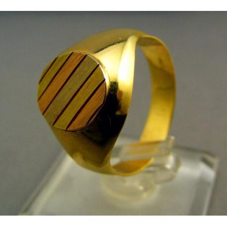 Viacfarebný pánsky prsteň