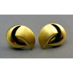 Zlaté náušnice žlté zlato napichovačky VA208