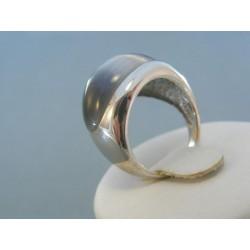 Strieborný prsteň prírodny kameň VPS53647