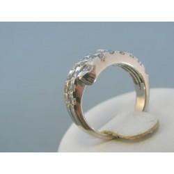 Strieborný prsteň kamienky zirkónu VPS51494