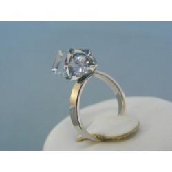 Strieborný prsteň Swarovski krištáľ VPS52278
