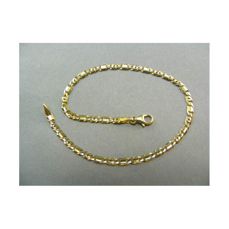 b7959dd4a Zlatý pánsky náramok