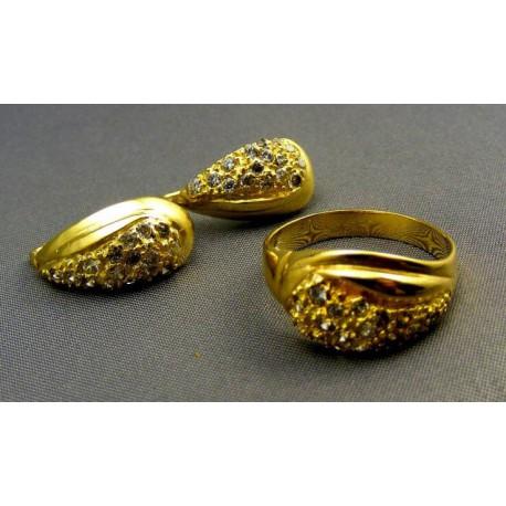 Súprava zlatá