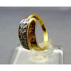 Zlatý prsteň viacfarebné zlata VP51387V