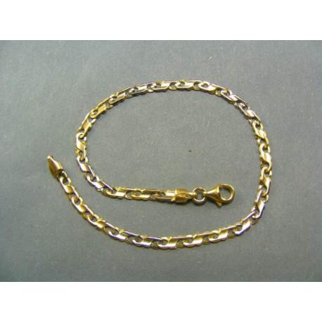 Zlatý náramok zo žltého zlata