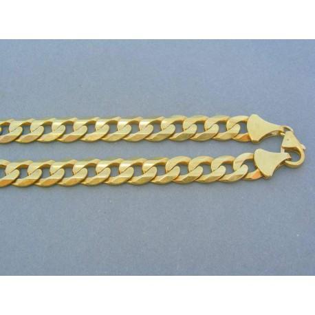 Zlatá retiazka žlté zlato vzor pancier VR556569Z