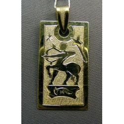 Zlatý prívesok znamenie ritina VI514Z