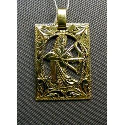 Zlatý prívesok znamenie vzorované VI266Z