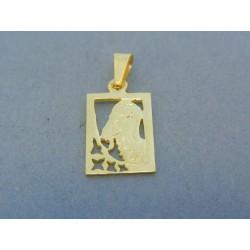 Zlatý prívesok znamenie kozorožec žlté zlato DI159Z