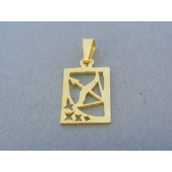 Zlatý prívesok znamenie strelec žlté zlato DI134Z