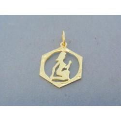 Zlatý prívesok znamenie žlté zlato DI080Z