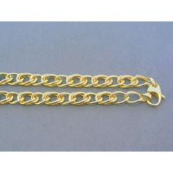 Zlatá retiazka veľké očká žlté zlato VR46809Z