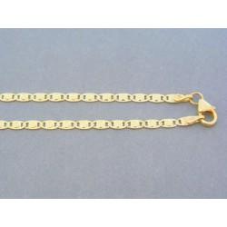 Zlatá retiazka žlté zlato ozdobná VR45510Z