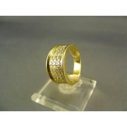 Zlatý dámsky prsteň žlté zlato DP53562Z