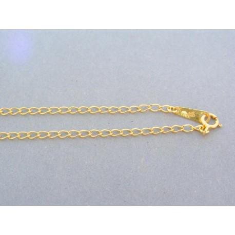 f8cd70ef7 Zlatá retiazka žlté zlato očká stred zdobený VR46589Z