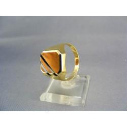 Zlatý pánsky prsteň pečatný žlté zlato DP69526Z