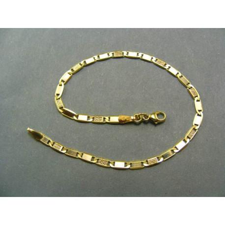 Zlatý náramok žlté zlato