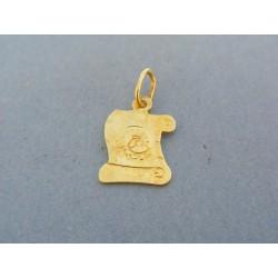 Zlatý prívesok znamenie barán žlté zlato VI085Z