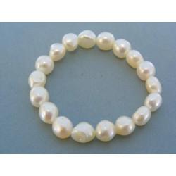 Jemný perlový náramok dámsky DN21