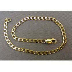 Zlatý náramok rovnake očka žlté zlato VN19358Z