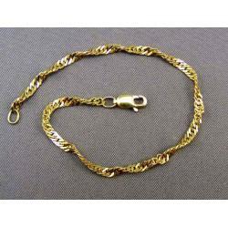 Zlatý náramok točený VN18319