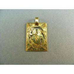 Zlatý prívesok znamenie žlté zlato DI288Z