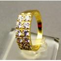 Zlatý dámsky prsteň so zirkónom žlté zlato VP54364Z