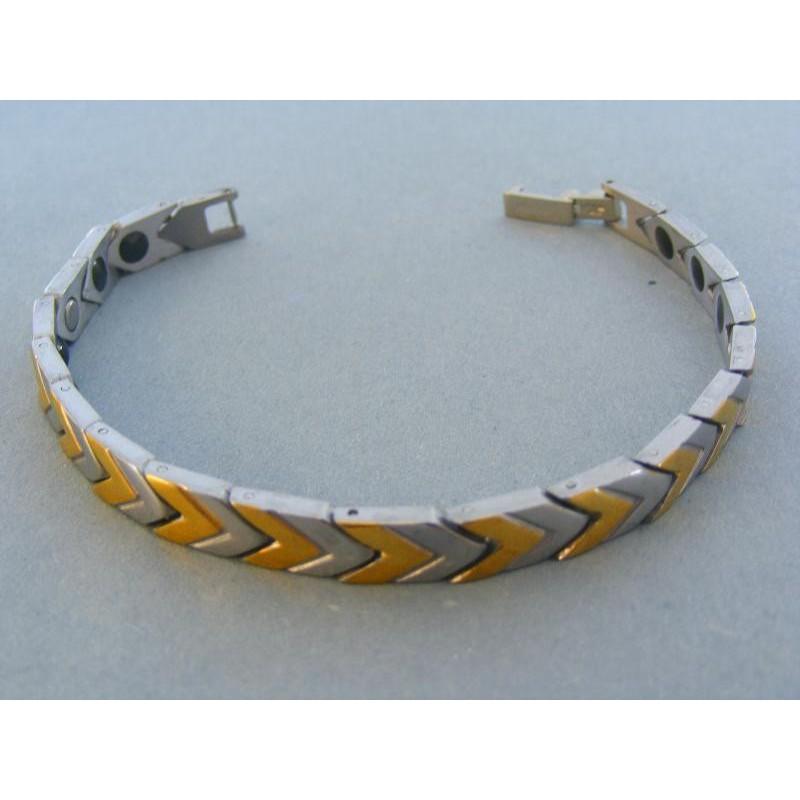Vzorovaný magnetický náramok ch. oceľ VNO202472pa 0dba8dc738b