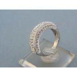 Strieborný prsteň dámsky swarovskí VPS52511
