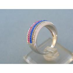 Strieborný prsteň kamene VPS58588