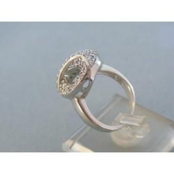 Strieborný prsteň zirkóny VPS54748