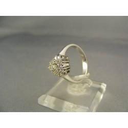 Diamantový prsteň v bielom zlate VD54400
