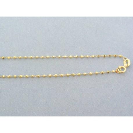 91fcb7494 Zlatá retiazka žlté zlato očká guličky VR42238Zpr
