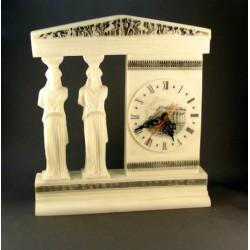 Stolové hodiny dve sochy DHS2099