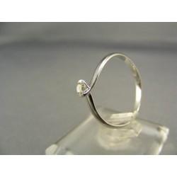 Diamantový prsteň biele zlato VD55170