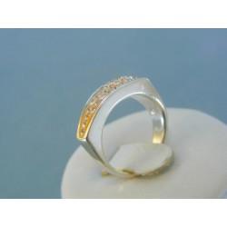 Strieborný dámsky prsteň swarovskí DPS51579