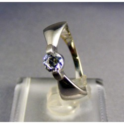 Zlatý prsteň biele zlato so zirkónom VP56282B