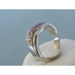 Strieborný dámsky prsteň swarovskí DPS57746